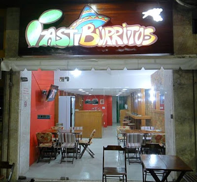 Fast Burritos: Fachada: Foto retirada do Facebook