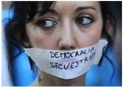 El fraude de la democracia