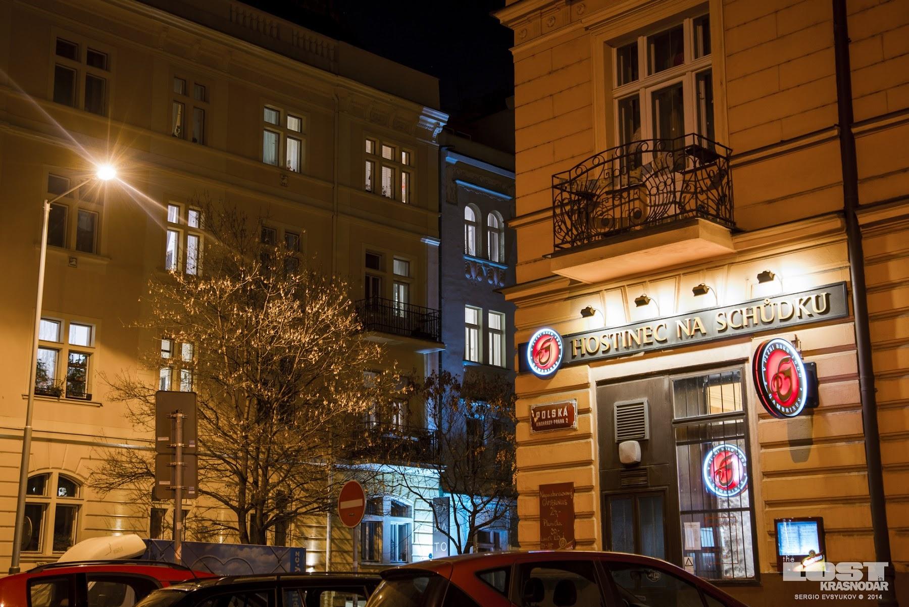 ночь в Чехии