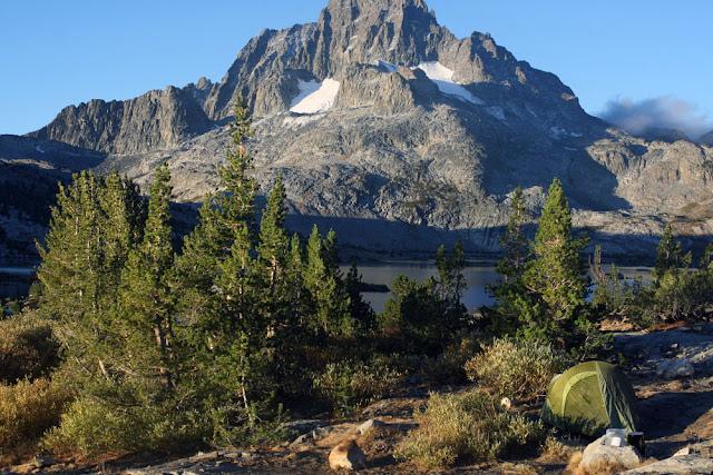 camping thousand island lake
