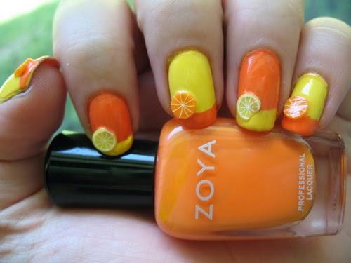 Yellow Summer Nail Arthttpnails Sidespot