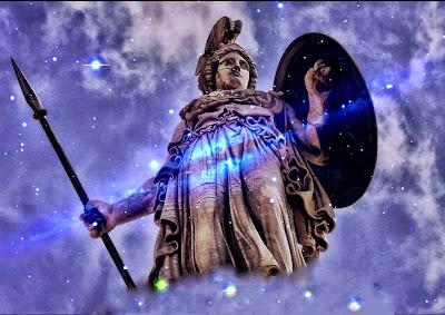 άγαλμα θεάς Αθηνάς