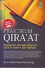 toko buku rahma: buku PRAKTIKUM QIRA'AT EDISI REVISI, pengarang abdul majid khon, penerbit amzah