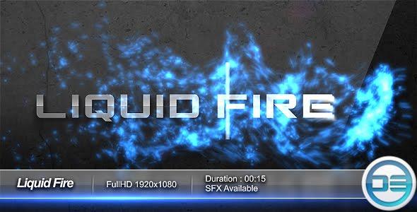 VideoHive Liquid Fire Logo FullHD