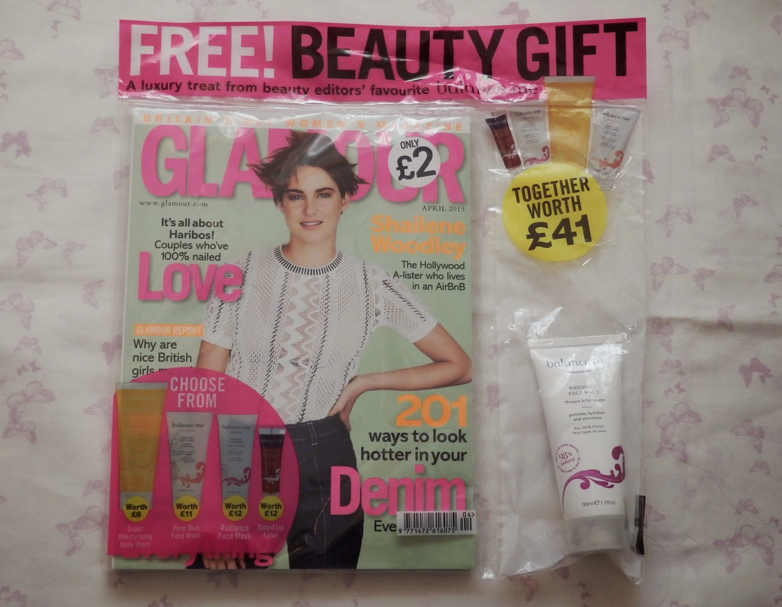 Glamour Magazine Freebies - Balance Me