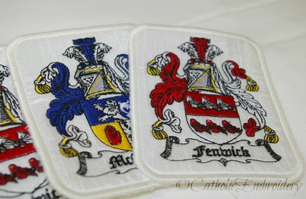 Catholic Embroidery Altar Cloth Knights In Shining Armor