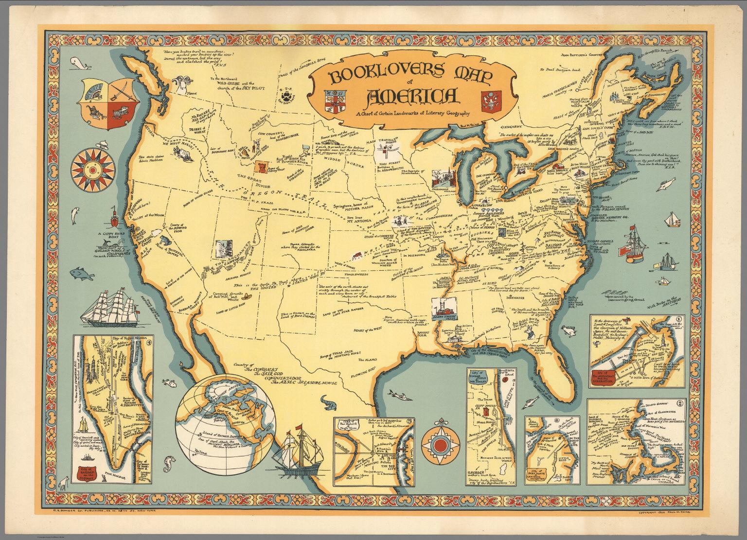 Libros Instrucciones De Uso Mapas Literarios Piérdete En Ellos - America mapa juego