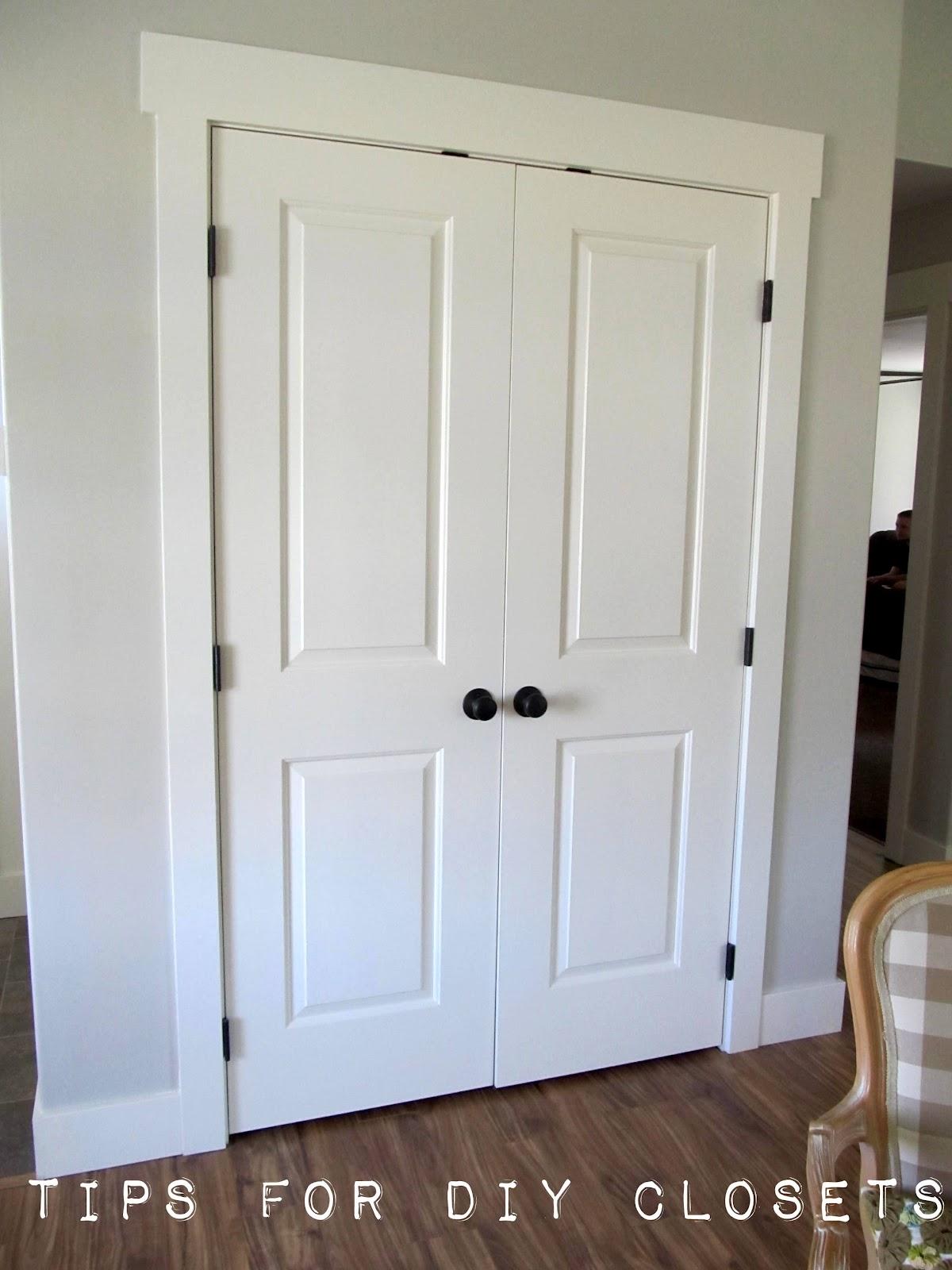 Tips For DIY Closet Shelving