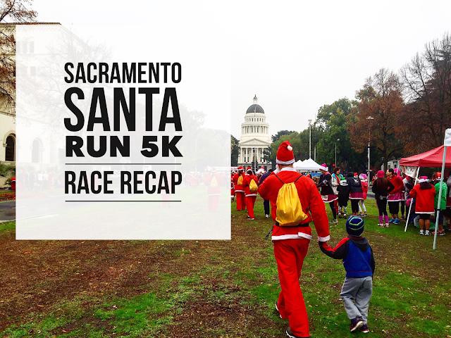 Sacramento Santa Run 5K Race Recap