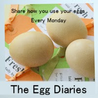 The Egg Diaries Blog Hop Button At Home With Tori