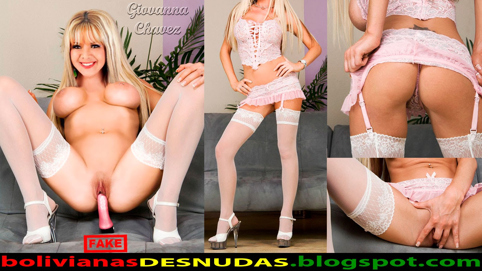 Fake De Giovanna Chavez Desnuda Y Disfrutando En Su Regreso A La Tv