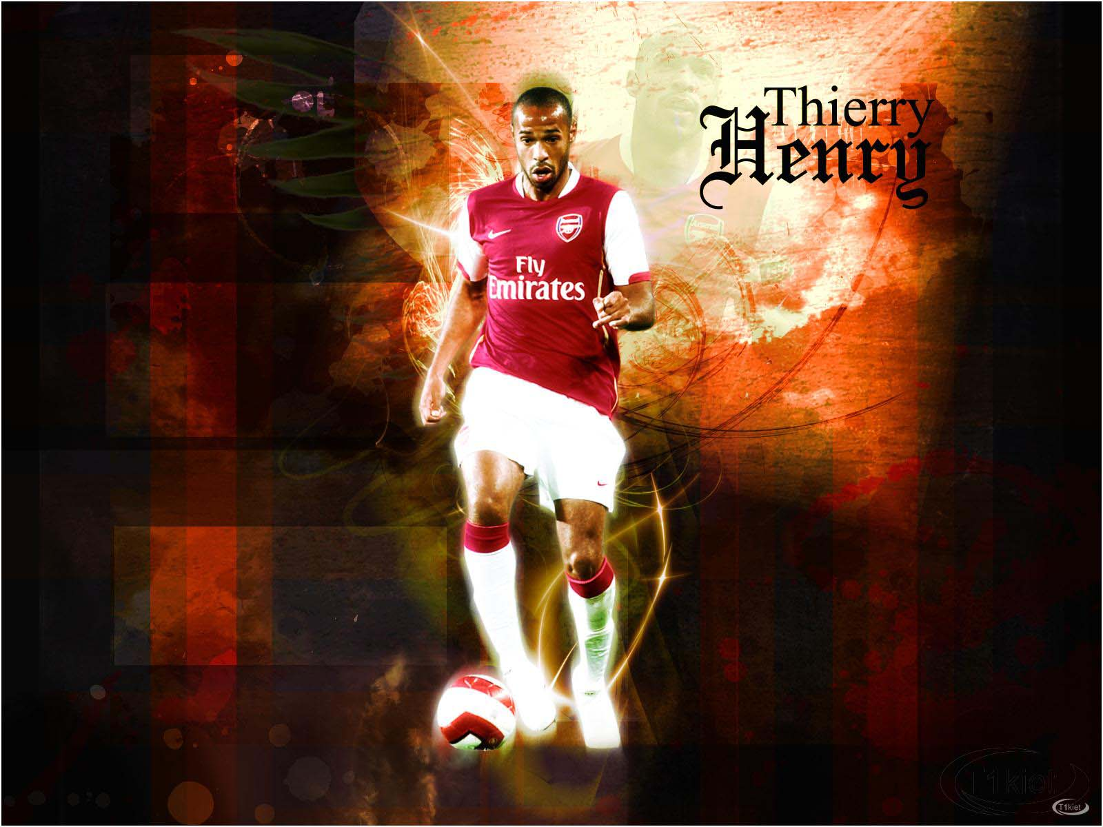 Thierry henry arsenal wallpaper 2012