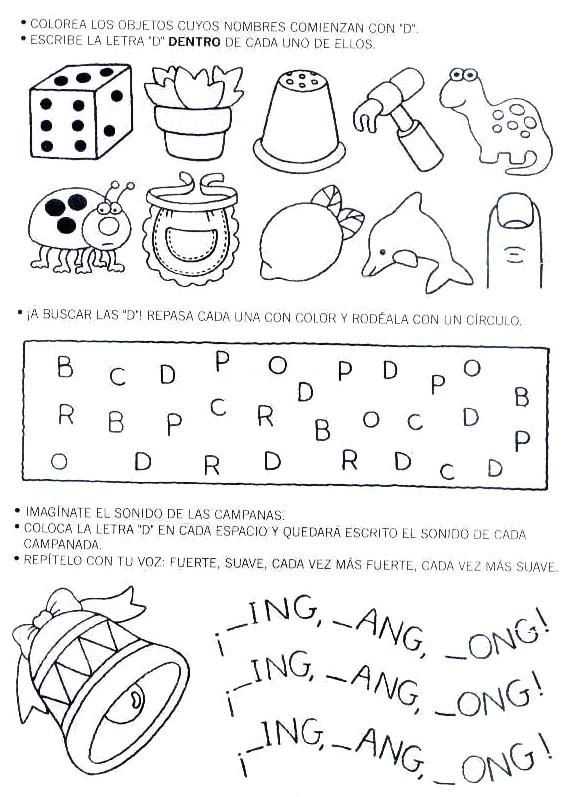 Láminas para Colorear - Coloring Pages: Actividades para ...