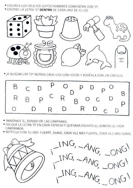 LAMINAS PARA COLOREAR - COLORING PAGES: Actividades para Jardineros ...