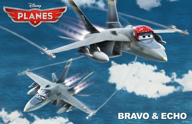 Bravo & Echo in Planes