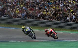 Jelang MotoGP Jerman : Marquez Banyak Belajar Segala Sesuatu Dari The Doctor Ala Rossi, Maksudnya?