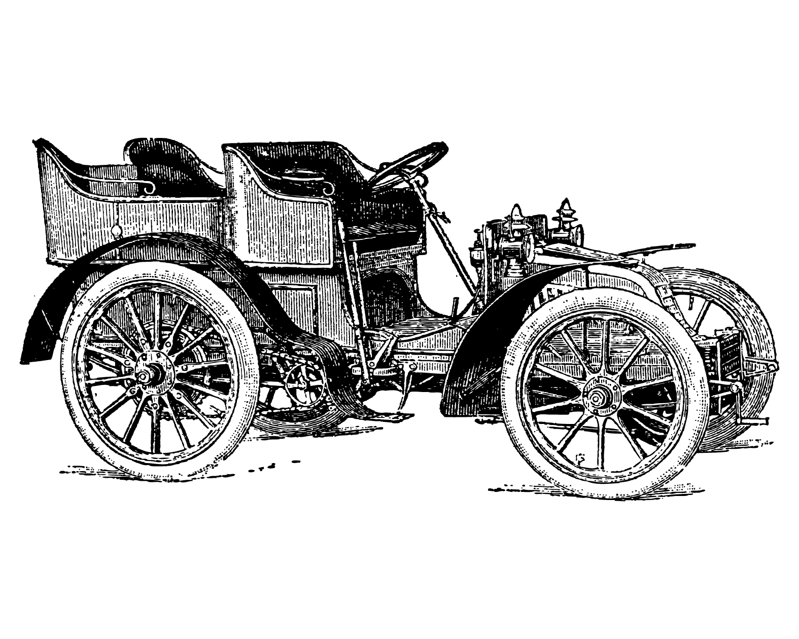 Free Vintage Clip Art Images Vintage Cars And Coaches