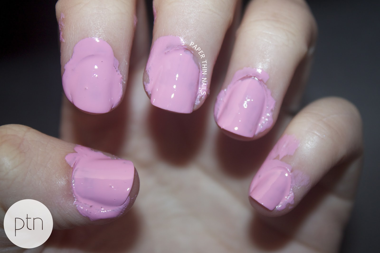 warpedrationails: Painting nails...in the dark!