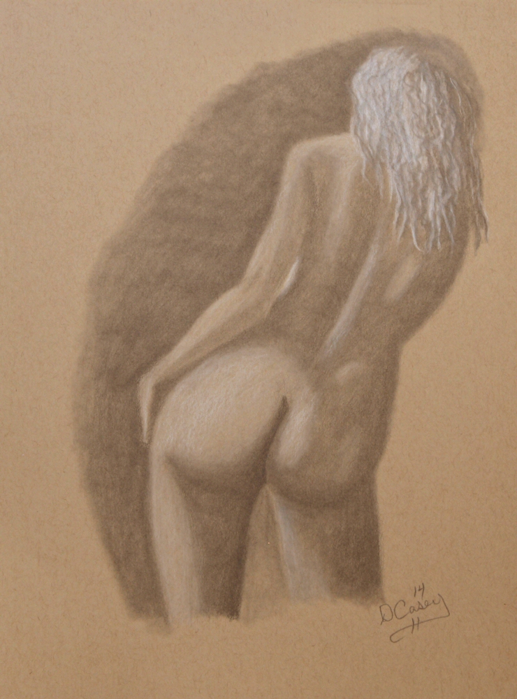 140924 - Day 23a - 30 in 30 Challenge - Graphite on toned paper -  Dave Casey - TheDailyPainter.jpg
