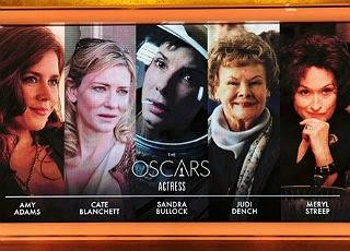 best actress, mejor actriz, oscar 2014, amy adams, cate blanchett, sandra bullock, judi dench, meryl streep