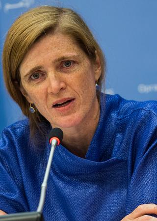 'É um acontecimento histórico', disse a embaixadora dos Estados Unidos na ONU, Samantha Power.