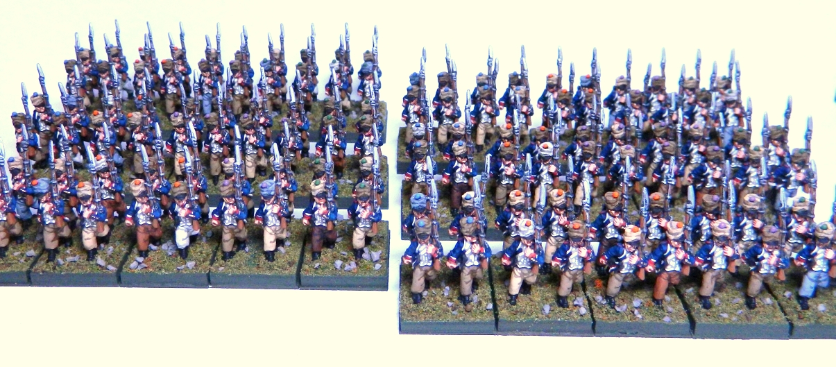 What Colour Paint  Years War French