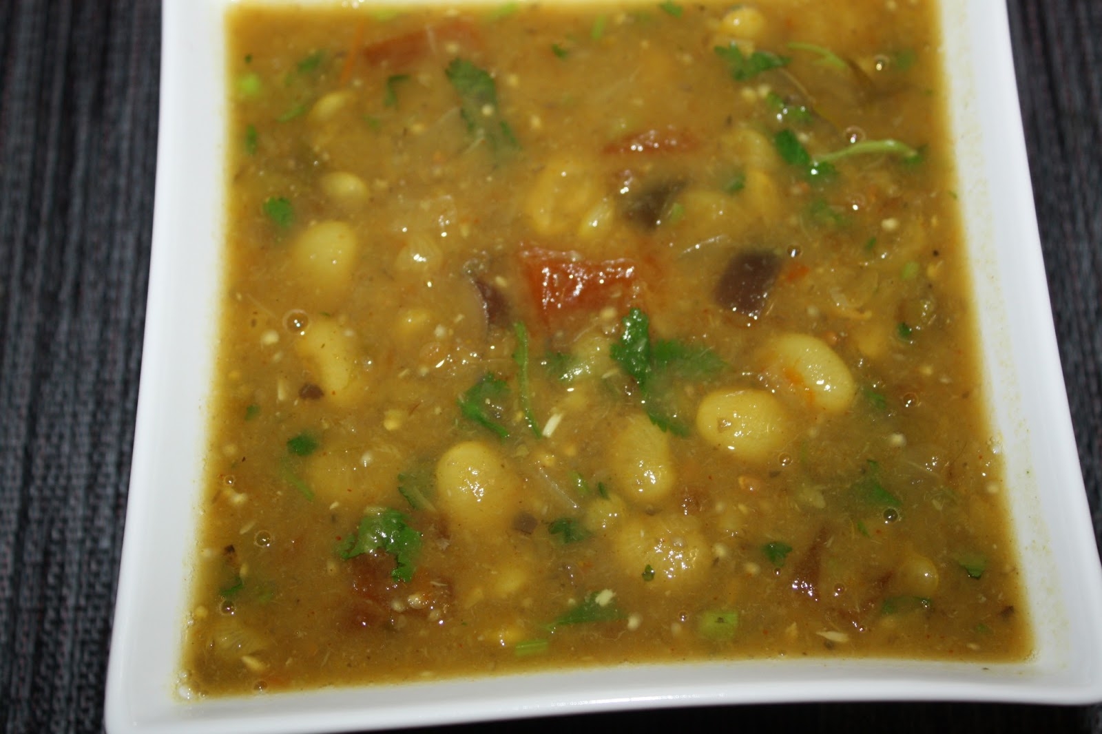 Recipes and Tips To Fight M.S.Curried Lima Beans and Eggplant Stew