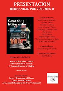 Café literario extraordinario Hermandad Poe