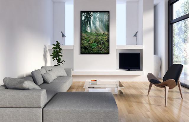 Fotografia dekoracyjna - szybka i łatwa zmiana wystroju wnętrza naszego mieszkania