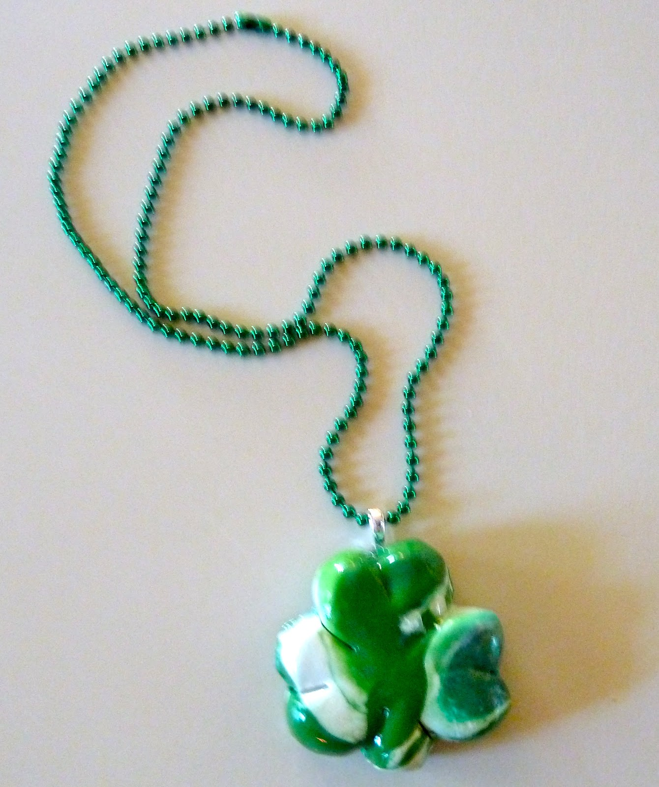 Make it easy crafts polymer clay shamrock pendant tutorial polymer clay shamrock pendant tutorial deck yourself out for st patricks day with this one of a kind shamrock pendant this makes a great teachers gift mozeypictures Image collections