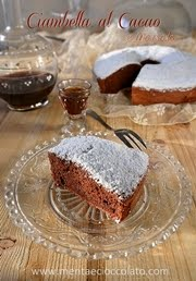Chiffon cake al Marsala e cacao