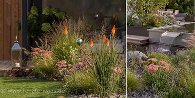 Gartenplanung gartendesign und gartengestaltung moderner garten mit blumen - Gartenplanung munchen ...