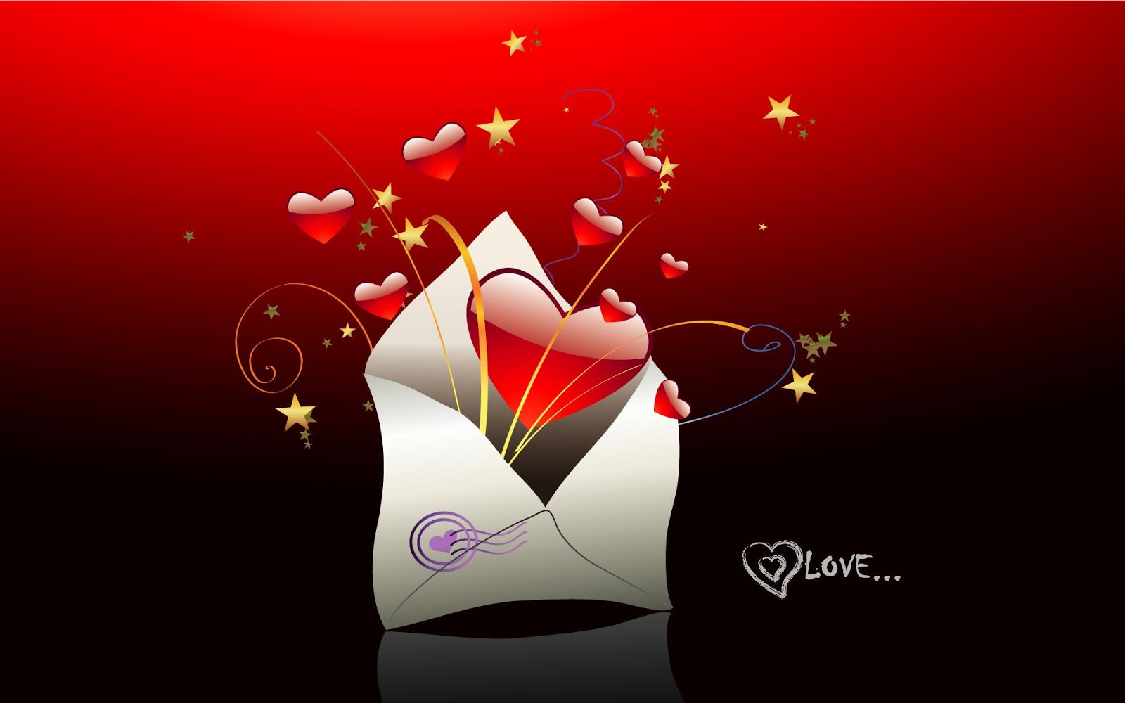 Cute Letter of I Love You Images HD