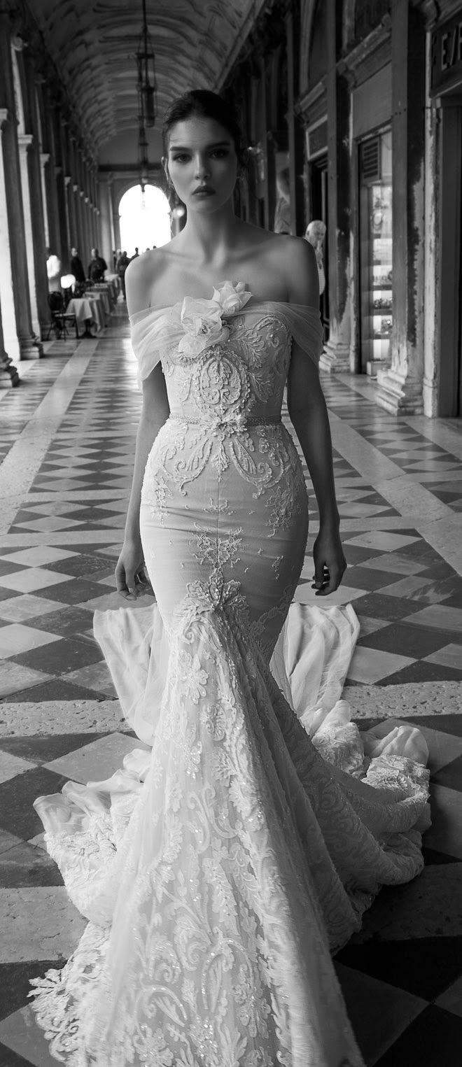 Inbal dror 2015 bridal collection part 2 fashion shared for Israeli wedding dress designer inbal dror