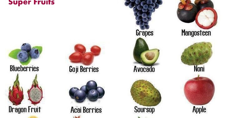 fruit sugar healthy super healthy fruits