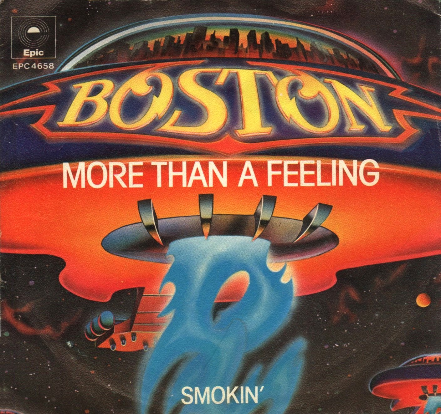 Single More than a feeling del grupo Boston