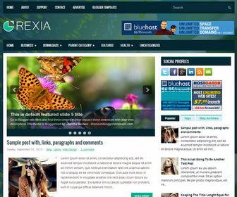 Rexia Blogger Template
