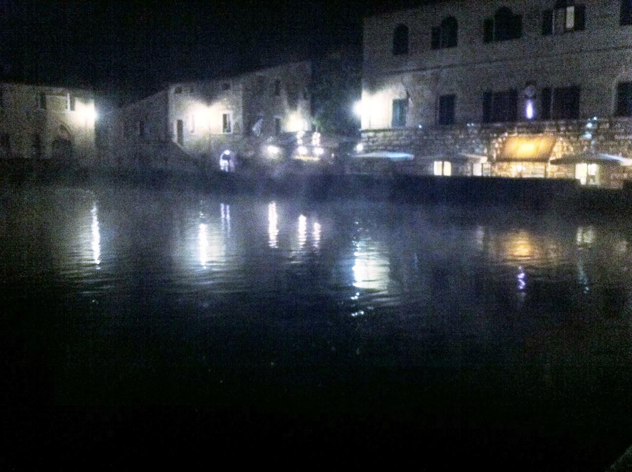 Hot Springs In Tuscany Bagno Vignoni October 16 2013