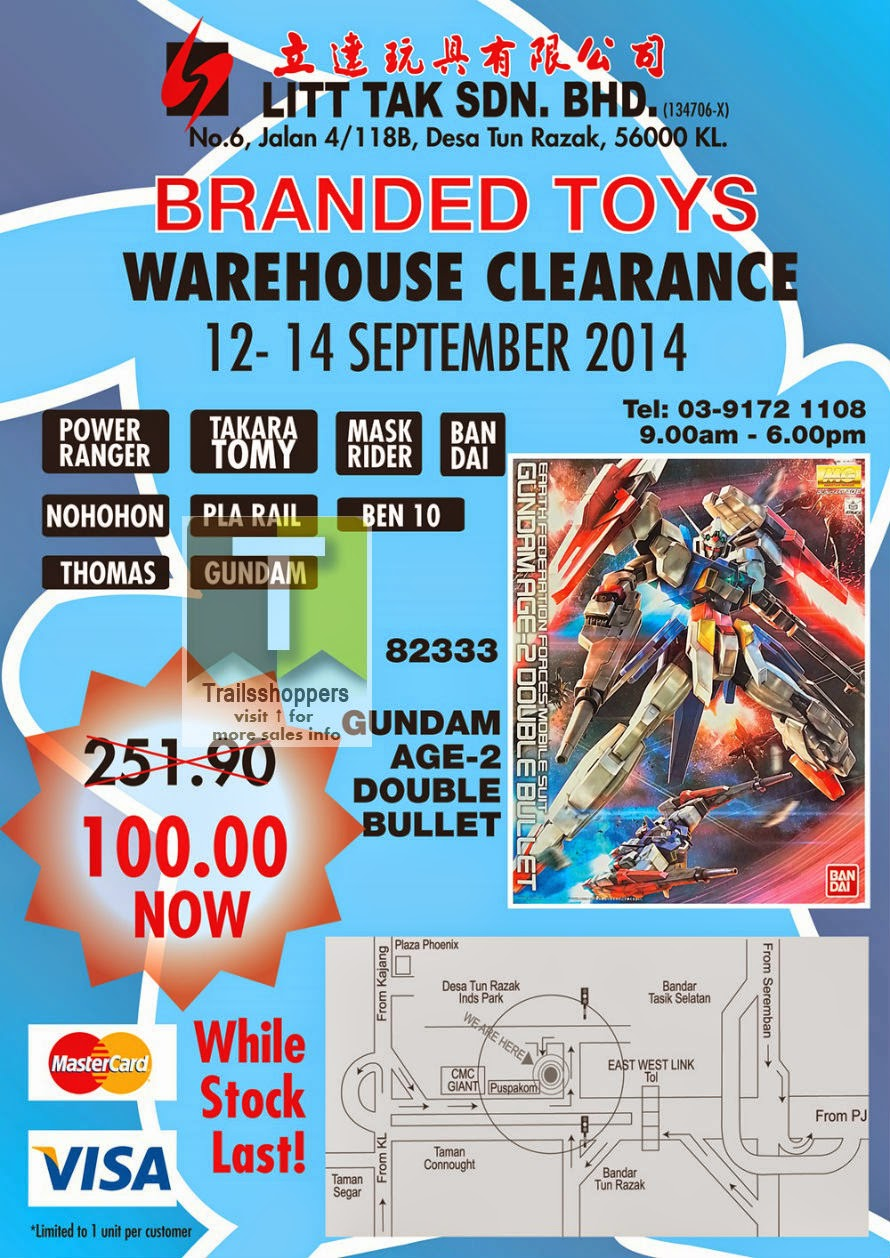 Litt Tak Sdn Bhd warehouse sale