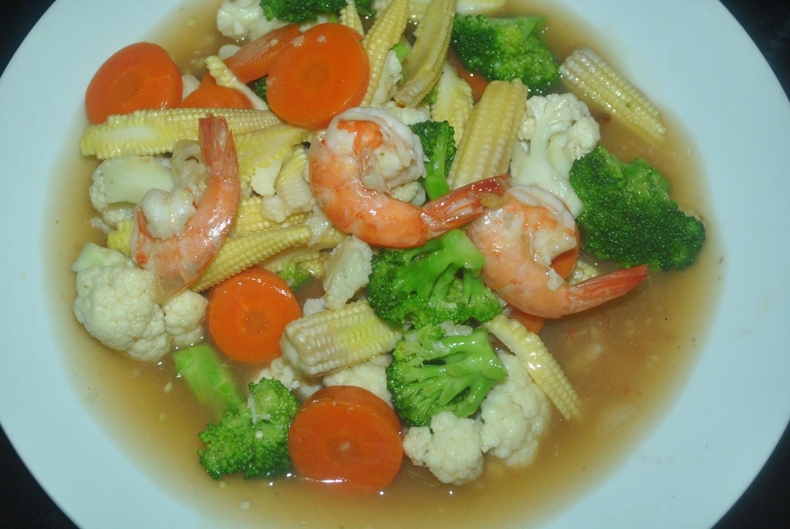 Patyskitchen Oyster Sauce Mixed Vegetables Sayur Campur Sos Tiram