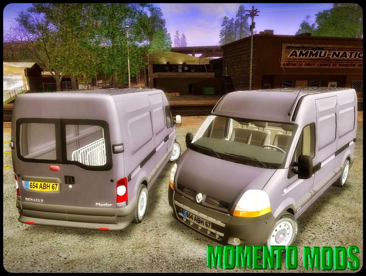 GTA SA - Renault Master 2005