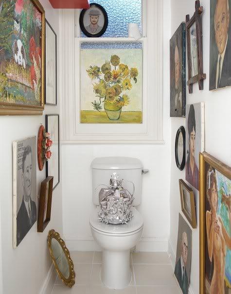Sanat dolu tuvalet ve banyolar smyrnetalya - Quadri da mettere in bagno ...