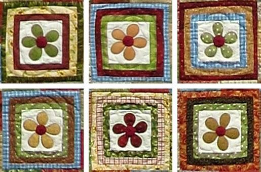 Sew Annie Sew Rotating Flower Blocks Quilt