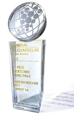 Mondial du Chasselas 2012 - Clos du Rocher