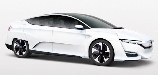 2016 Honda FCEV Specs