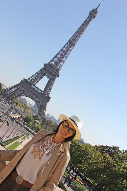 Fotos bonitas na Torre Eiffel