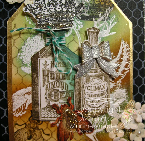 lost coast designs perfume vintage detail stamp