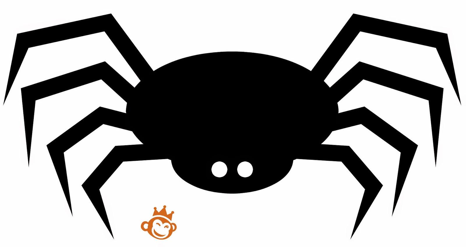 Recetas Originales Figuras Recortables Para Decorar En Halloween - Dibujos-araas-halloween