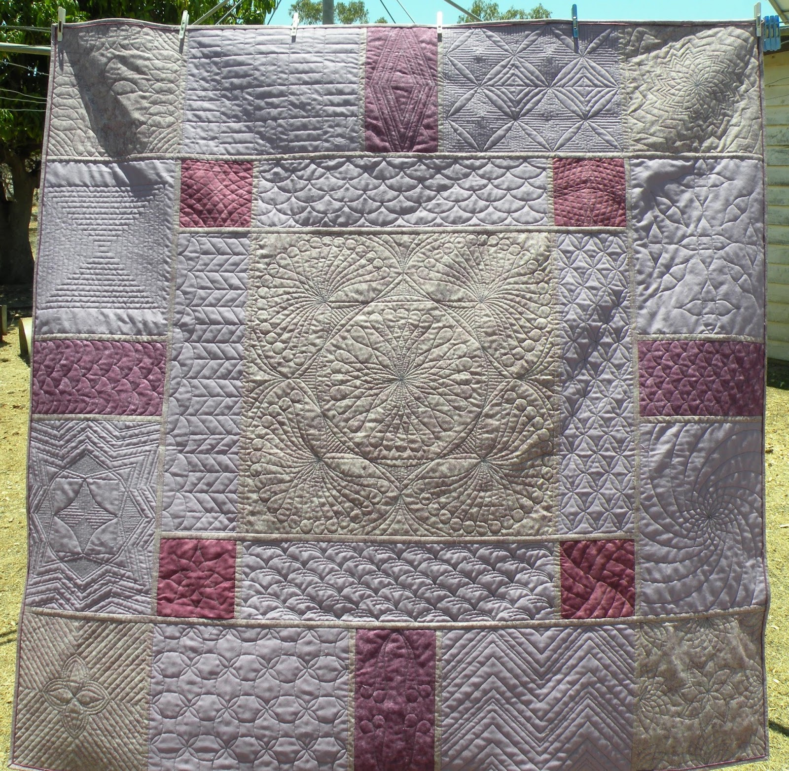 Punch with Judy\'s Blog: WESTALEE RULER FOOT BLOCK CHALLENGE