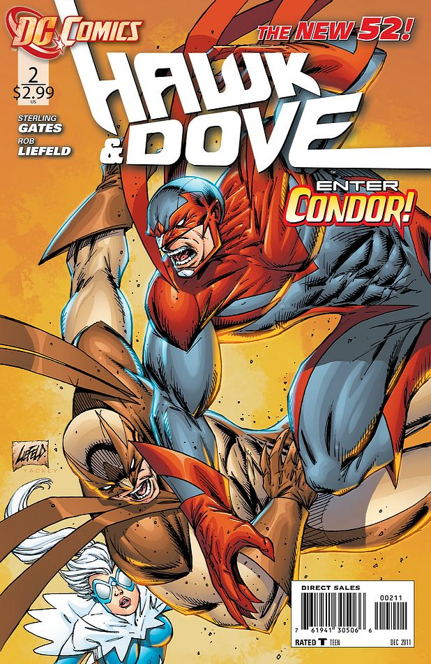 supergirl comic box commentary review hawk and dove 2. Black Bedroom Furniture Sets. Home Design Ideas